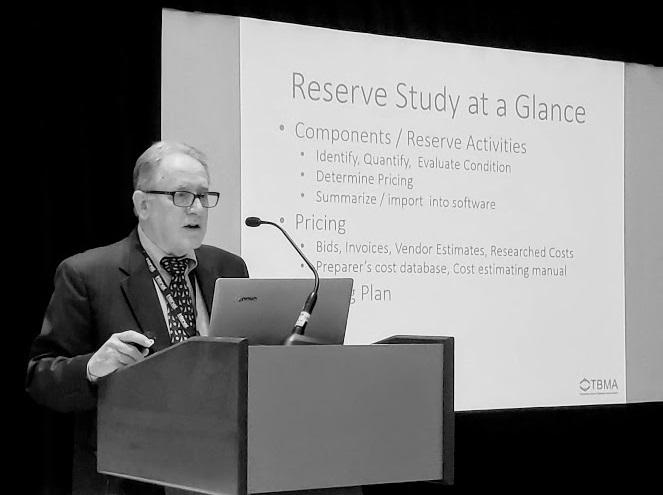 timeshare reserves, Gary Porter, Facilities Advisors International